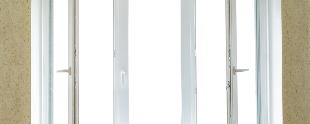 Modern PVC window frame