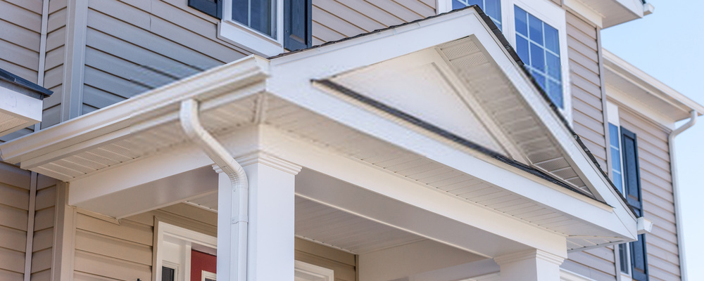 House porch roof